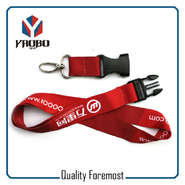 Custom Polyester Lanyard With Buckle