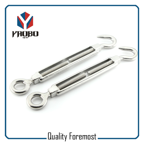 Stainless Steel 316 Turnbuckle For 3mm Wire Rope