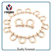 Custom High Quality Rose Gold Bow Shackles