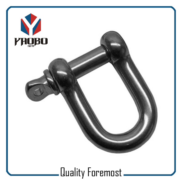 Custom High Quality Stainless Steel D Shackle