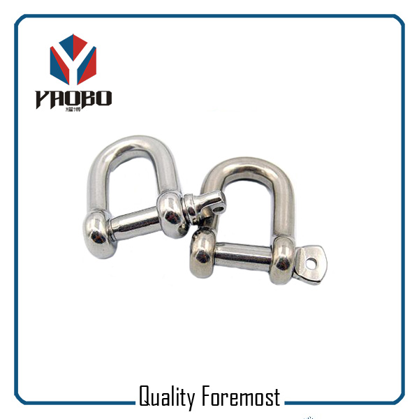 High Quality Stainless Steel Shackles Manufacture 5mm D Shackles