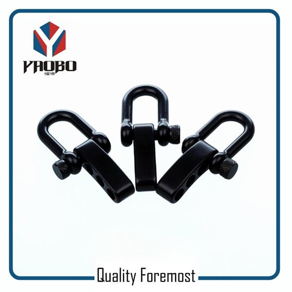 Manufacture High Quality Stainless Steel Black Shackles