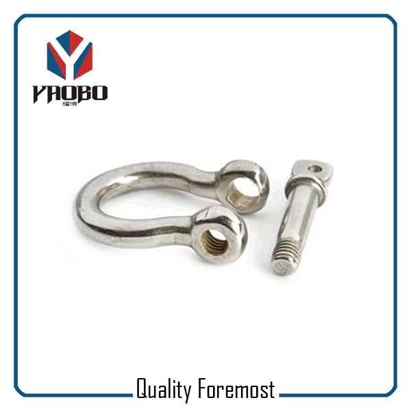 High Quality Stainless Steel 4mm Bow Shackles For Jewelry