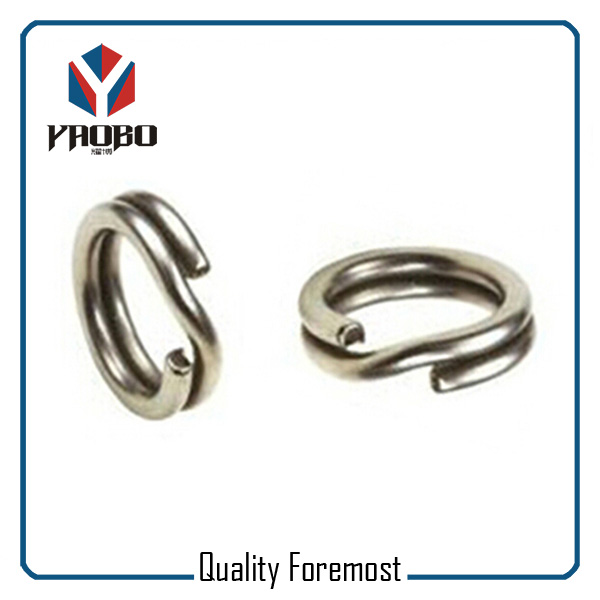 Stainless Steel Split Rings Factory