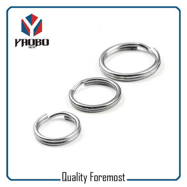 Stainless Steel Split Ring Key Rings