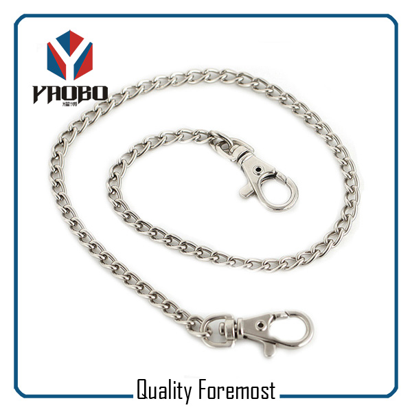 Curb Chain Snap Hook For Bags