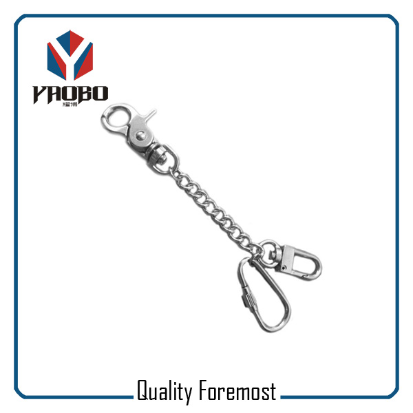 Metal Chains With Snap Hooks