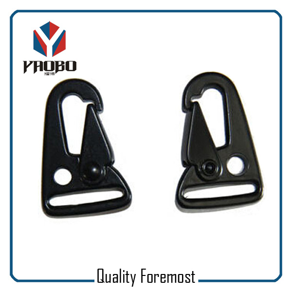 Black Snap Hook For Bags