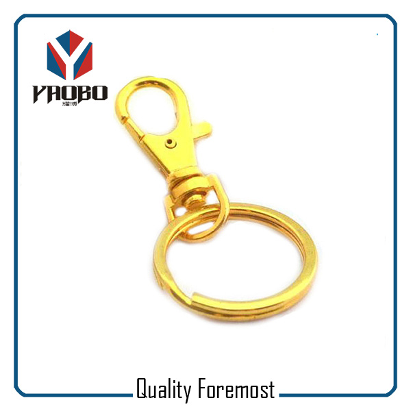 Gold Snap Hook For Key