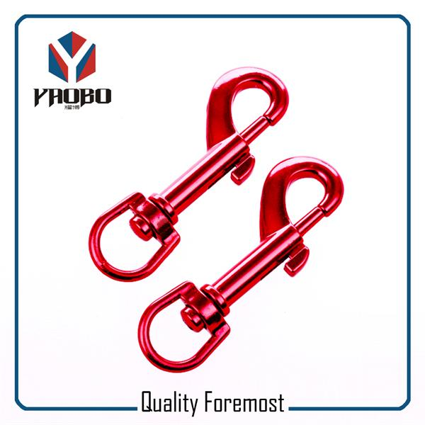Wholesales Red Colour Snap Hook