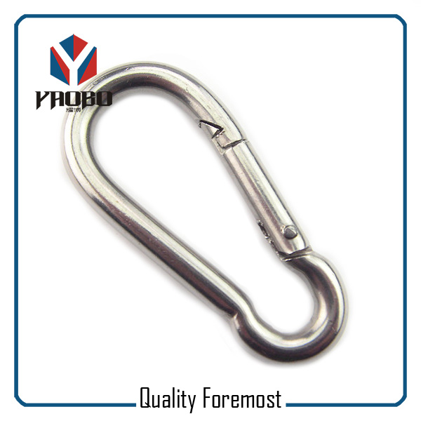 Strong Stainless Steel Carabiner Hook