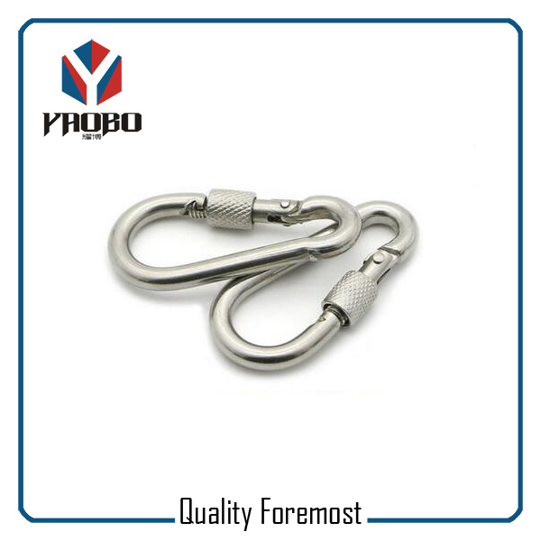 60mm Stainless Steel Carabiner
