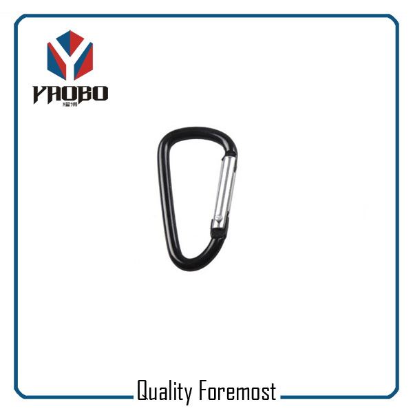 Wholesales 60mm Black Carabiner