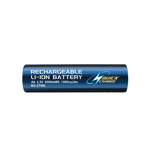 1.5V RECHARGEABLE AA SIZE LI-ION BATTERY