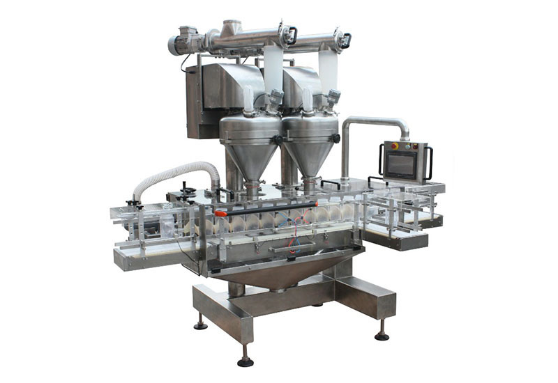 Daily maintenance method of automatic auger filling machine