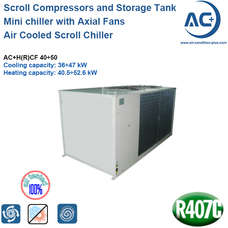Air Cooled Scroll Chiller R407C air cooled water chiller​