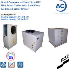 Air Cooled Water Chiller / R22 mini scroll chiller
