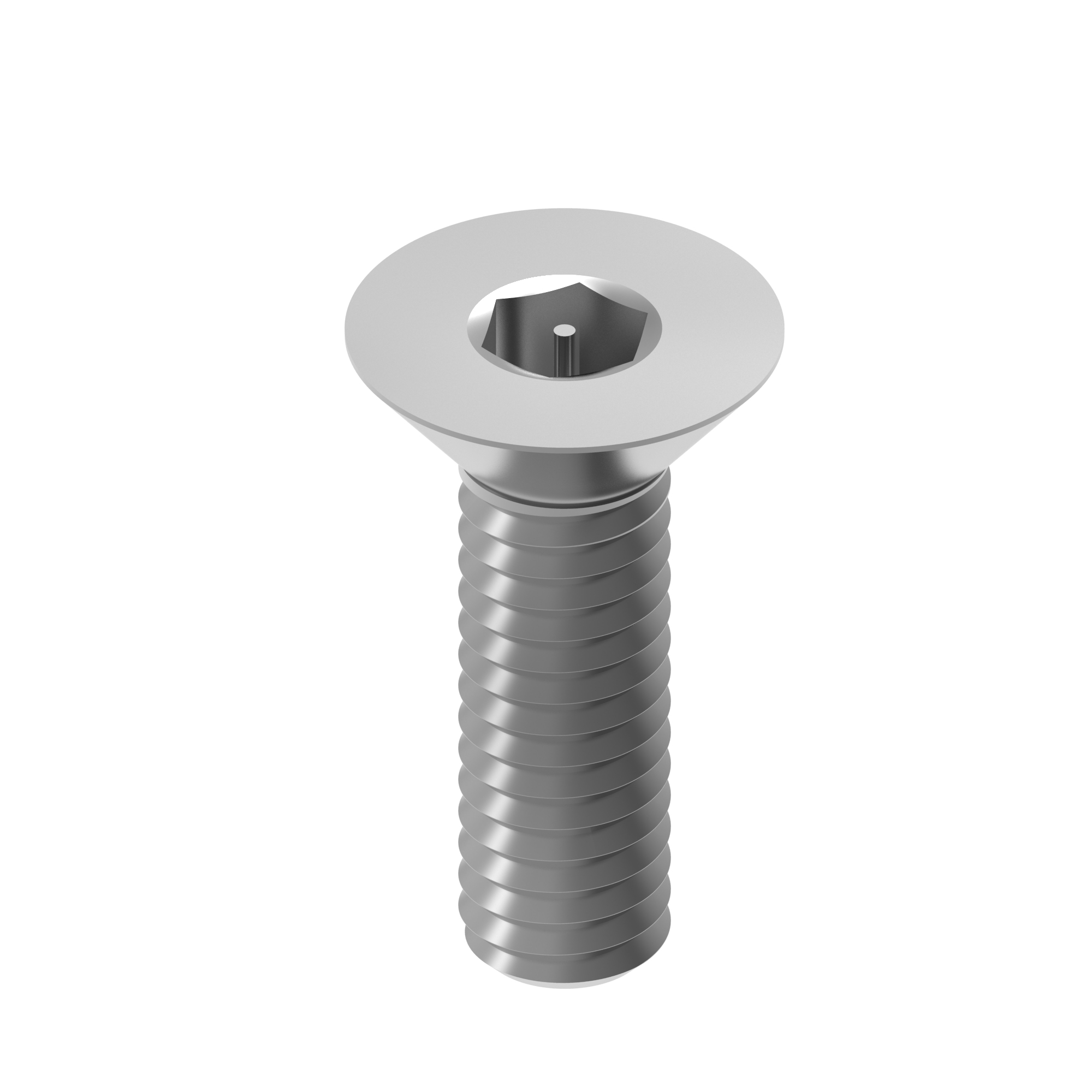 Hexagon socket machine screw