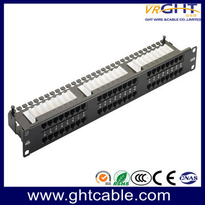 SFTP Cat6e 24-Port Patch Panel