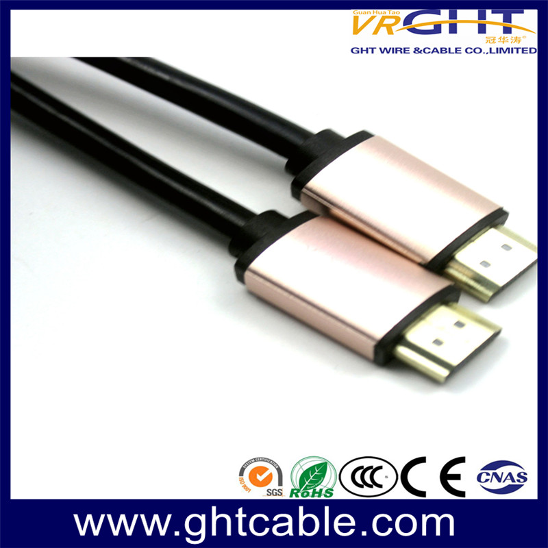 HDMI CABLE 1.4V/2.0V PINK ALLOY