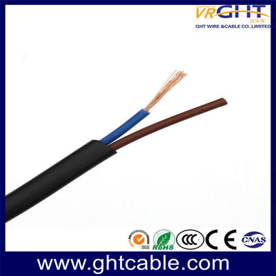 Flat Rvv Flexible Cable/Security Cable/Alarm Cable/Rvv Cable (2X1.5mmsq)