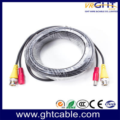 CCTV Cable with BNC&DC Cnnectors (Double Wires)