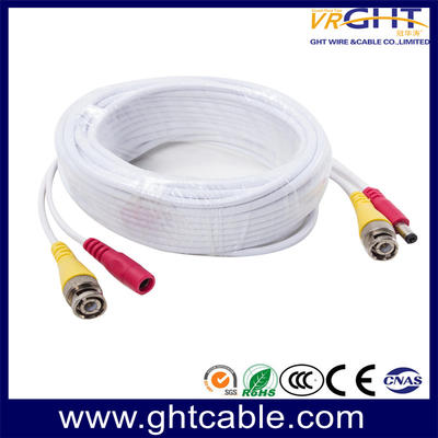 CCTV Cable with BNC & DC Plugs for CCTV Camera/Security Survillance