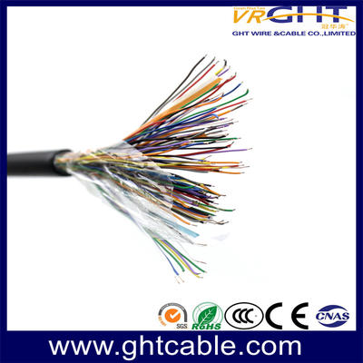 High quality colorful outdoor telephone cable with 50 pair telephone cable