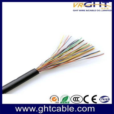 High quality colorful outdoor telephone cable with 16 pair telephone cable