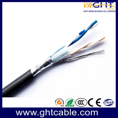 2 Pairs Shielded Telephone Cable/ Communication Cable