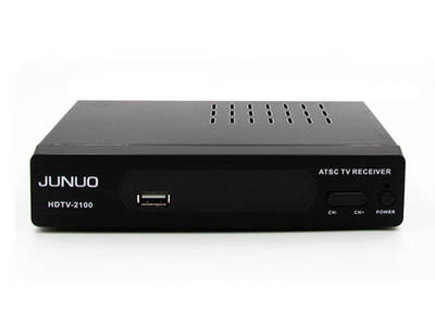 Junuo atsc supplier Wholesale atsc tv box fully ATSC compliant for North America with NTIA cert
