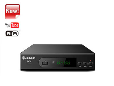 Wholesale Junuo Dvb t2 Decoder Manufacturer T2 Set Top Box With Youtube App