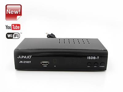 Wholesale Junuo Isdb Supplier Isdb-t Digital Receiver Support Youtube App