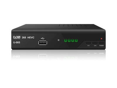 JUNUO H.265 hevc dvb t2 tv box tv receiver for germany czech
