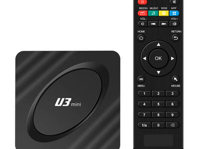 2020 New arrival U3 mini 2gb 16gb Amlogic S905W android 9.1 4k ott tv box