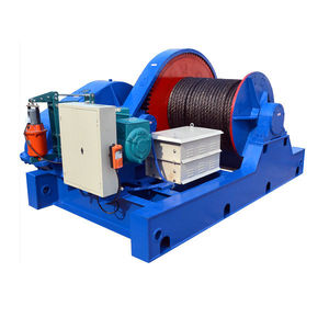 Heavy Capacity Crane Winch