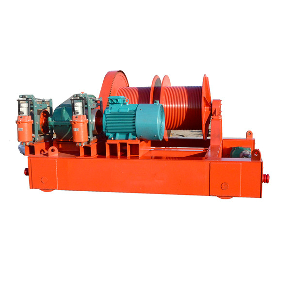 High Quality Electric Winch Double Drum