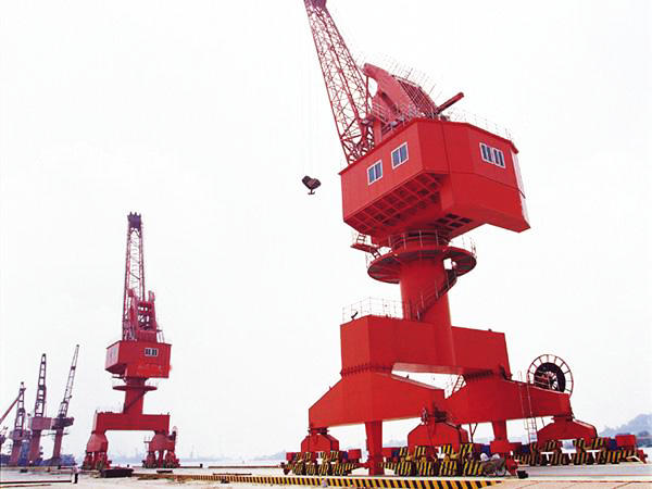 Loading and Unloading Portal Crane