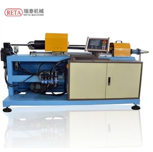 Tube Punching And Flanging Machine