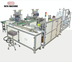Automatic Flat Mask Making Machine; N95 Mask Making Machine;