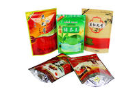Custom Printed Aluminum Foil Tea Packaging Bag