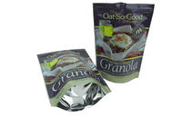 FDA 500g Granola Foil Standing Bag With Zip Lock