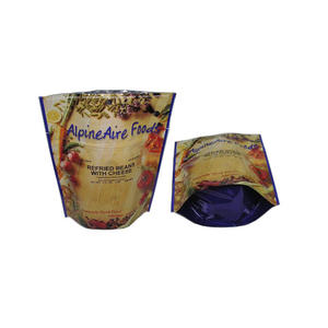 aluminum foil stand up pouch,  stand up pouch factory, foil stand up pouch