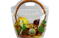 Custom Ziplock Plastic Fruit Pouch Bag