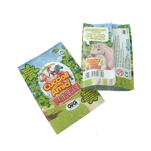 CE Animal Figurine Packaging Foil Pouch