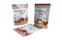Foil Food Storage Bags For Strawberry Deli Pack