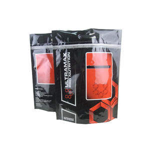 Foil Stand Up Whey Protein Bag With Ziplock