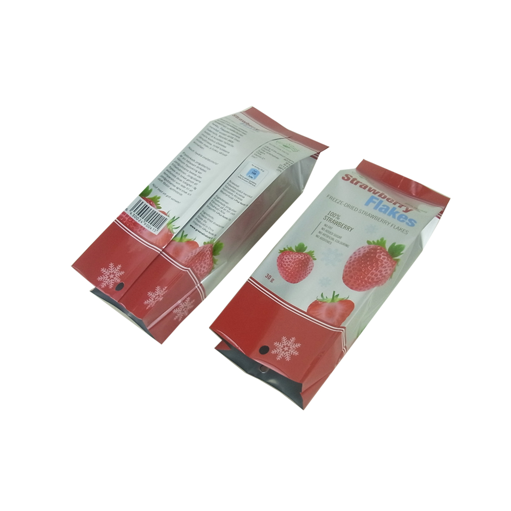 Strawberry Flakes Packing Aluminum Foil Vacuum Food Bags