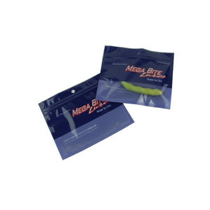 Printed Plastic Zip Top Fishing Lure Bags