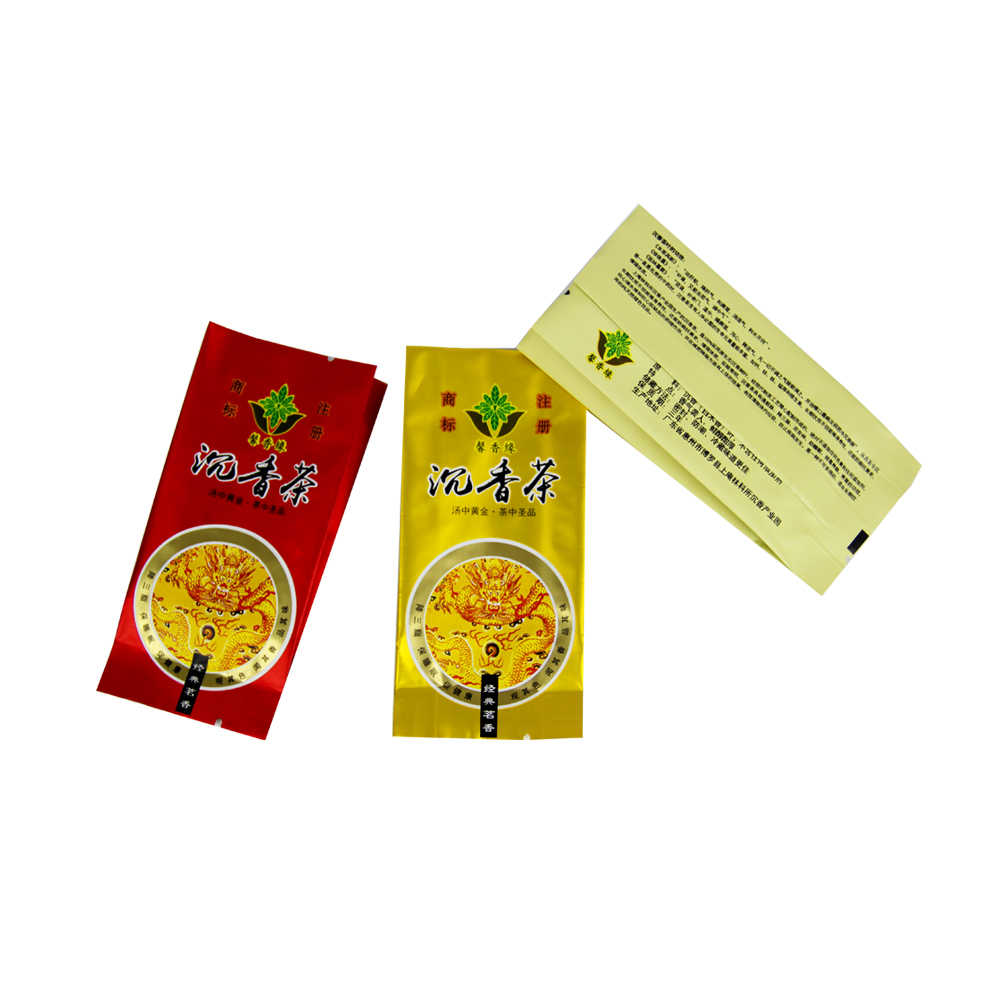 Customized Small Foil Side Gusset Tea Bag